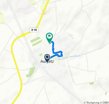 Itinéraire modéré en Aumetz