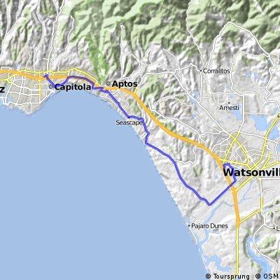 Soquel to Watsonville