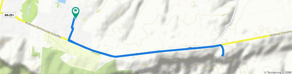 Rota moderada em Chapada dos Guimarães