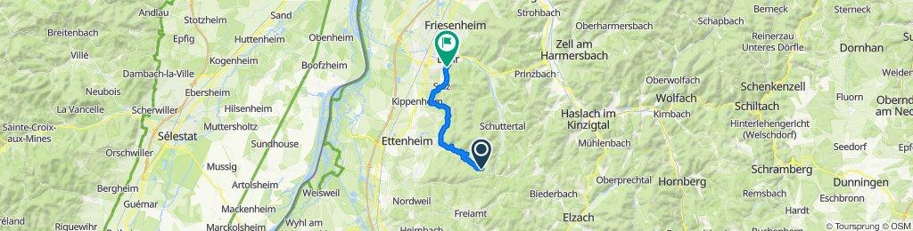 1/2 Marathon Streitberg -- Lahr