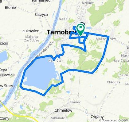 Zrelaksowana trasa w Tarnobrzeg