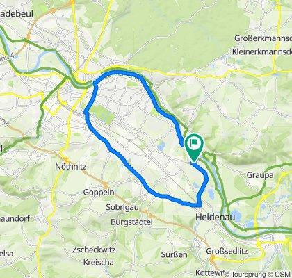 Überschallgeschwindigkeitsfahrt in Dresden