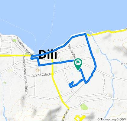 Route to Rua de Bé-Mori, Dili