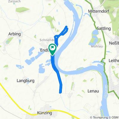 Gemütliche Route in Osterhofen