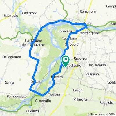 Da Via P. Borsellino 31, Suzzara a Via P. Borsellino 31, Suzzara