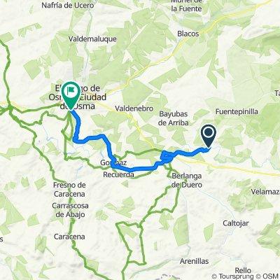 Berlanga de Duero - El Burgo de Osma
