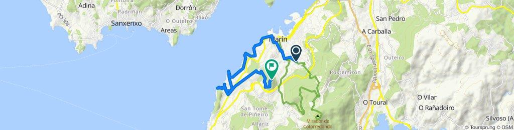 Ruta constante en Marín