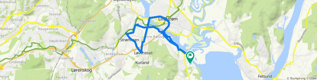 Steady ride in Fjerdingby