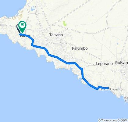 Giro a velocità lenta in Taranto