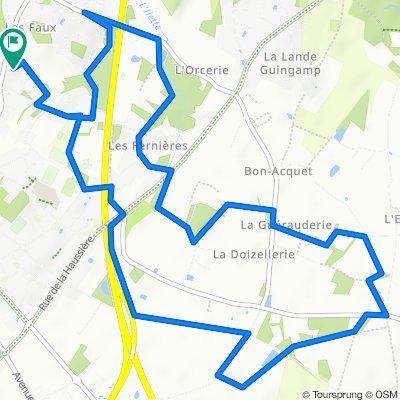 Circuit des Châteaux - Les Sorinières
