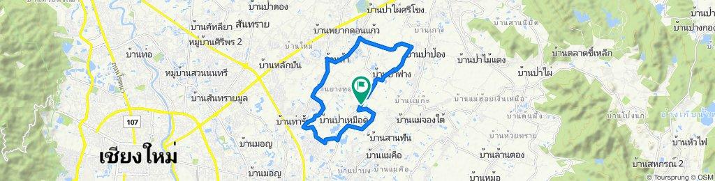 Easy ride in Doi Saket
