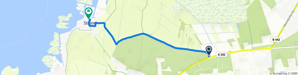 Gemütliche Route in Wunstorf