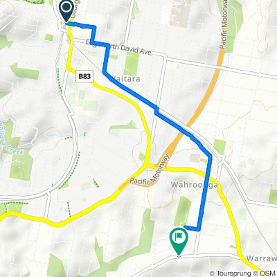 Hornsby to Wahroonga