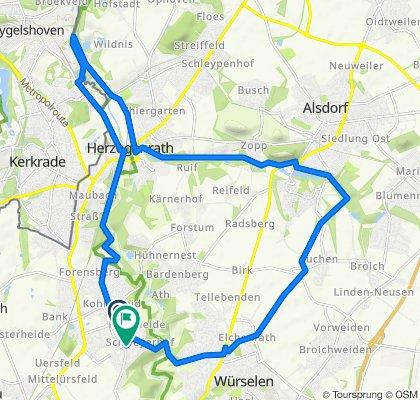 Gemütliche Route in Herzogenrath