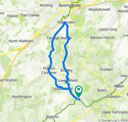 Thursley Lodge, Trinity Hill, Alton to Hornoak Lodge, Trinity Hill, Alton