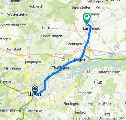 Itinéraire reposant en Ulm