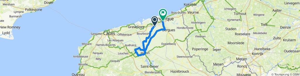 Crisp ride in Coudekerque-Branche