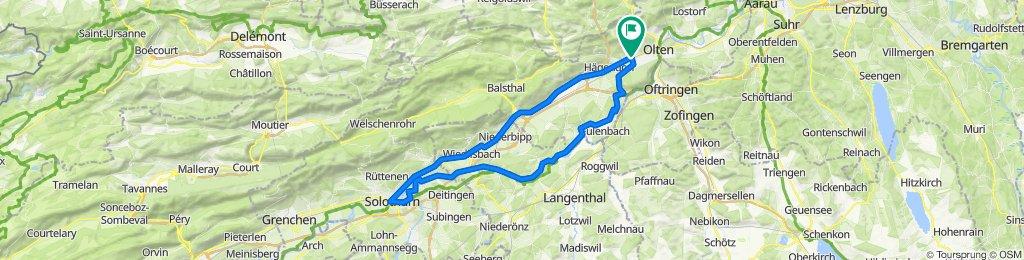 Solothurn - Wangen bei Olten