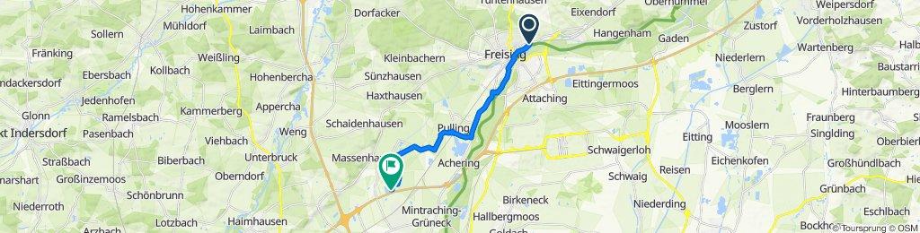 Gemütliche Route in Neufahrn bei Freising