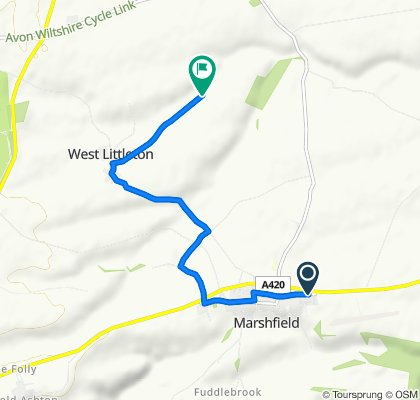 Restful route in Chippenham