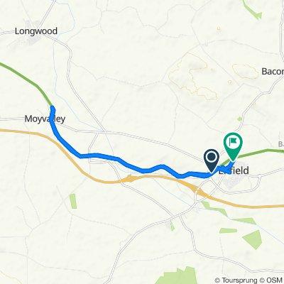 Johnstown Way 52, Enfield to An Chearnóg 25, An Bóthar Buí