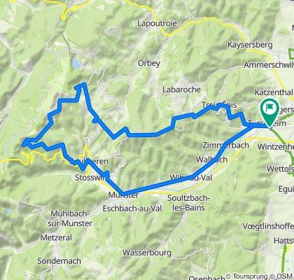 Drei-Seen Tour, Vallee de Munster