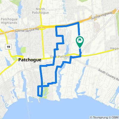 100–104 Hewlett Ave, East Patchogue to Village Dr, East Patchogue