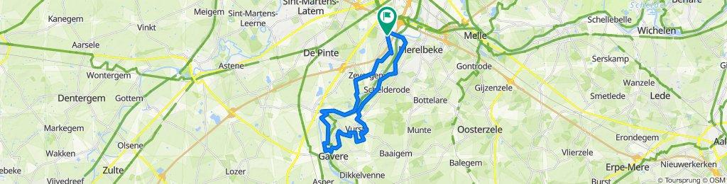 MTB WE (zaterdag) - Scheldevallei