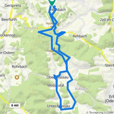 Gemütliche Route in Brombachtal