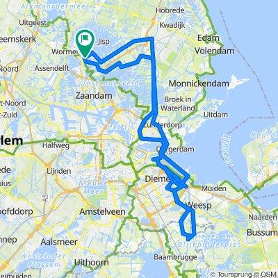 FVW Drive By Weesp / Driemond 103km