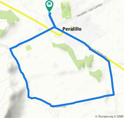 De Serrano, Peralillo a Serrano, Peralillo