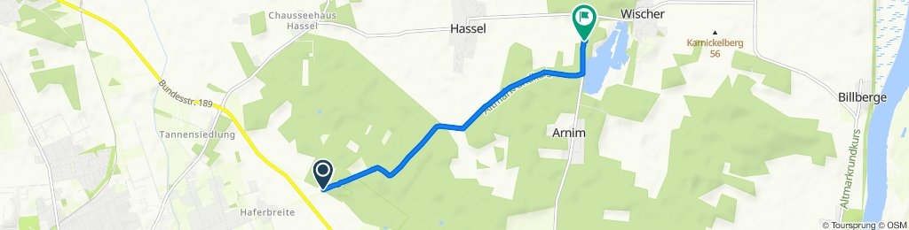 Moderate Route in Hassel