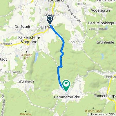 Gemütliche Route in Muldenhammer