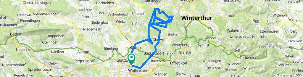 Knackige Fahrt in Oberembrach