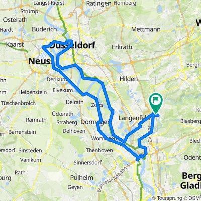 Brücken-Tour, lange Version Radfahren