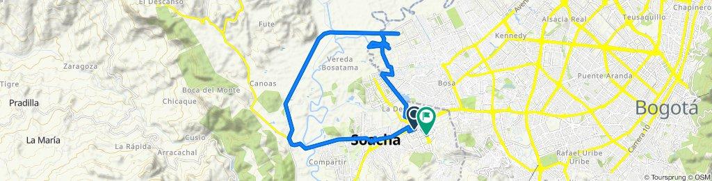 De Calle 34 2b188, Soacha a Carrera 6A Este 38-56, Soacha
