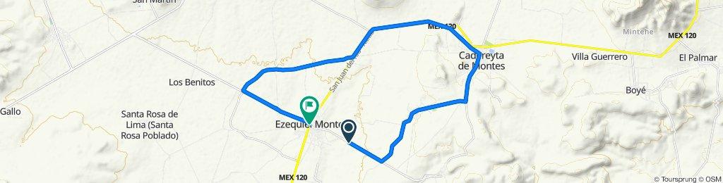 Ruta moderada en Ezequiel Montes