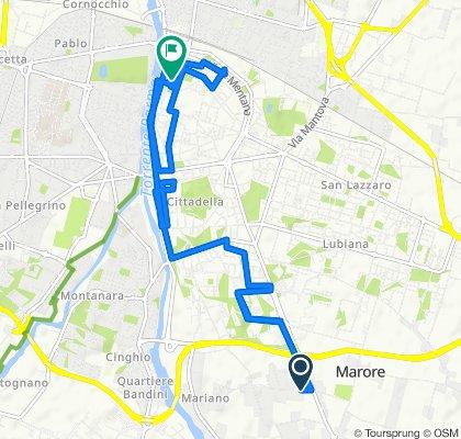 Giro semplice in Parma