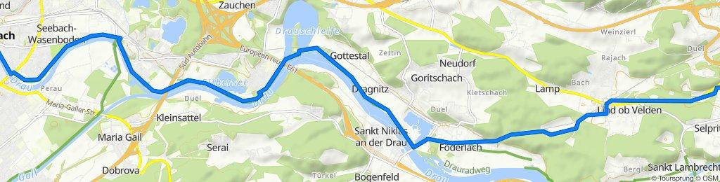 Gemütliche Route in Villach