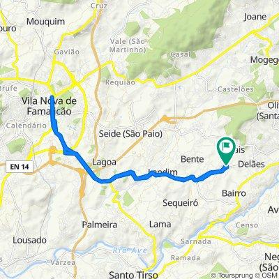 Travessa da Estrada Nacional 204.5 86, Novais to Travessa da Estrada Nacional 204.5 86, Novais