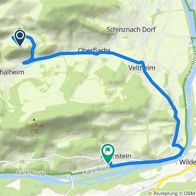 Gemütliche Route in Auenstein