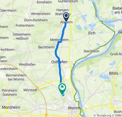 Alsheim - Herrnsheim