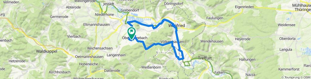 Moderate Route in Eschwege