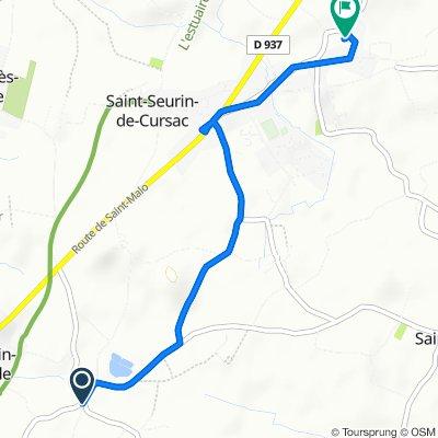De Chemin de Marquaize 3, Saint-Martin-Lacaussade à Petit-Puits-Est 3, Mazion
