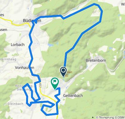 Moderate Route in Gründau