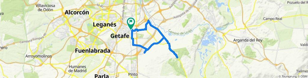 Ruta rápida en Getafe