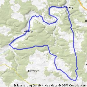 Pfünz-Kipfenberg-Runde