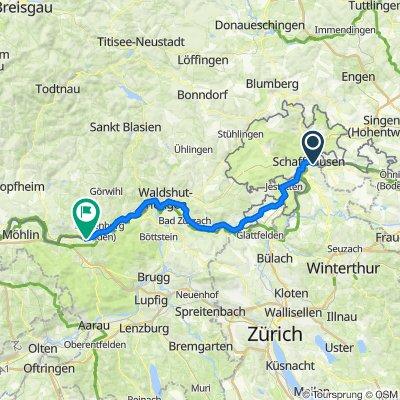 singletrail map winterthur