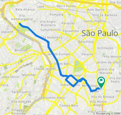 Caminhada lenta São Paulo