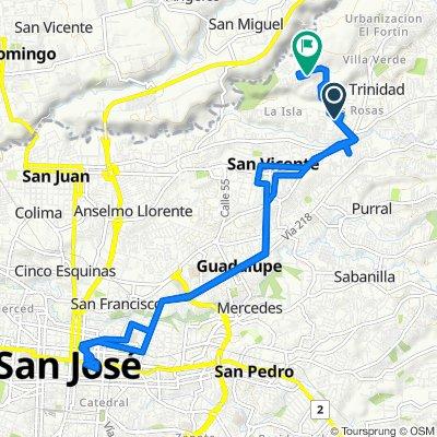 De Calle 89, San Vicente a Avenida 89, Guadalupe